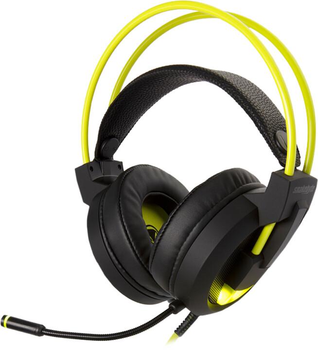 Snakebyte Head:Set Pro, černá/žlutá