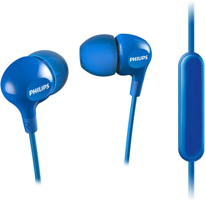 Philips SHE3555, modrá