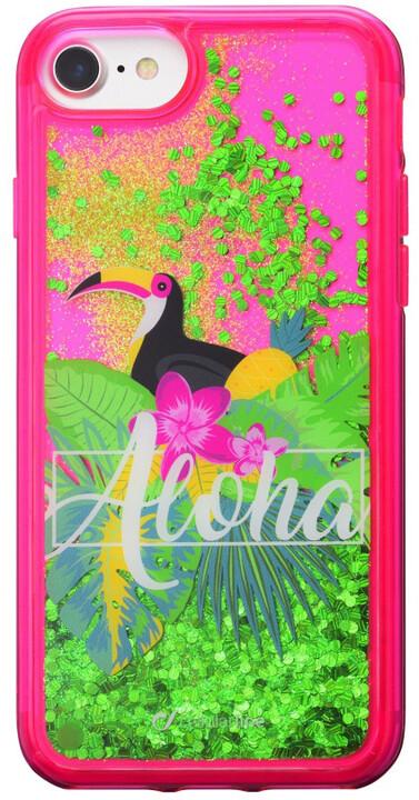 CellularLine gelové pouzdro Stardust pro Apple iPhone 8/7/6, motiv Aloha