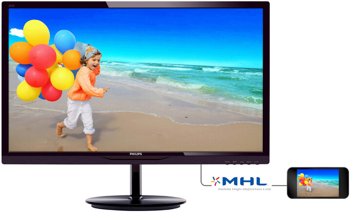 Philips 284E5QHAD - LED monitor 28""