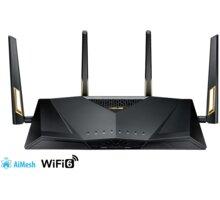 ASUS RT-AX88U, AX6000, Dual Band Gigabit Aimesh Router - 90IG04F0-MN3G00