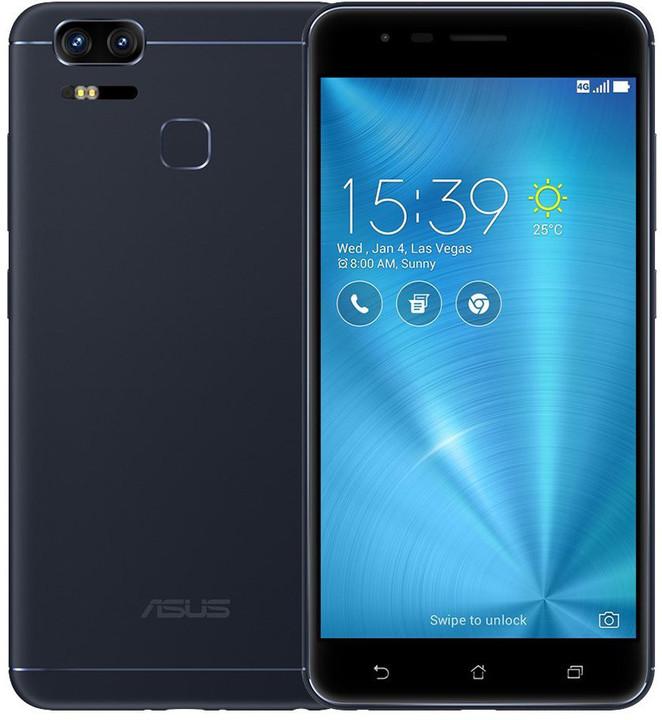 ASUS ZenFone ZOOM S, 4GB/64GB, černá
