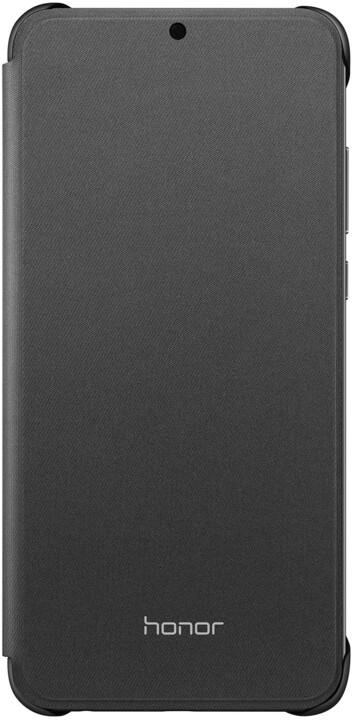 HONOR 8X PU Flip Protective Cover, černé