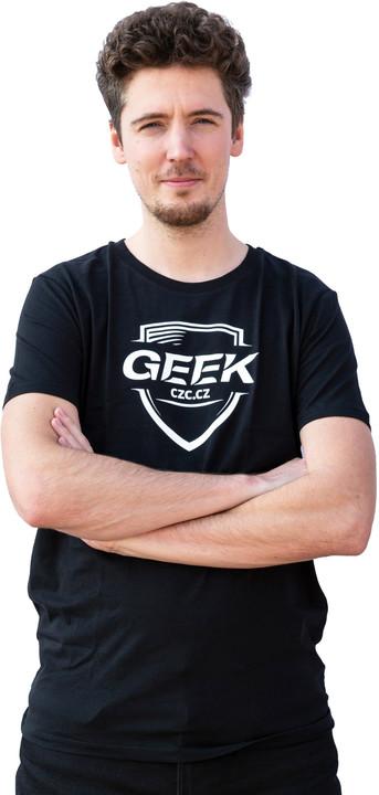 Tričko GEEK pánské, černé (L)