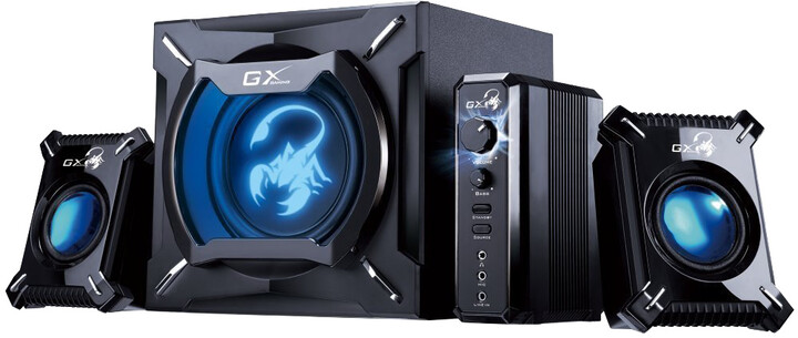 Genius GX GAMING SW-G2.1 2000 Ver. II, černé