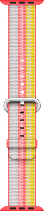 Apple watch náramek 38mm Red Woven Nylon