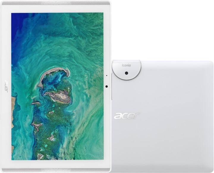 Acer Iconia One 10 (B3-A40-K3HZ), bílá