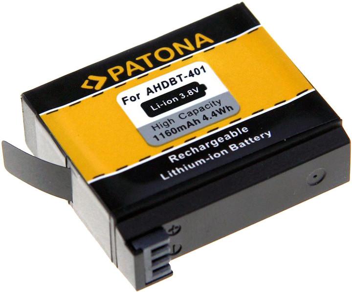 Patona pro videokameru GoPro Hero 4 1160mAh Li-Ion