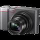 Panasonic DMC-TZ100, stříbrná  + Voucher až na 3 měsíce HBO GO jako dárek (max 1 ks na objednávku)