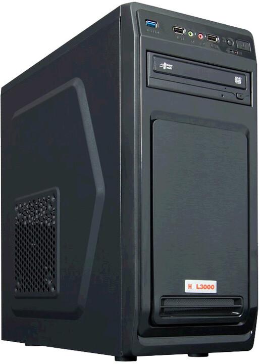 HAL3000 Enterprice 3400G, černá