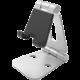 Desire2 univerzální hliníkový stojánek pro mobilní telefony a tablety, stříbrný