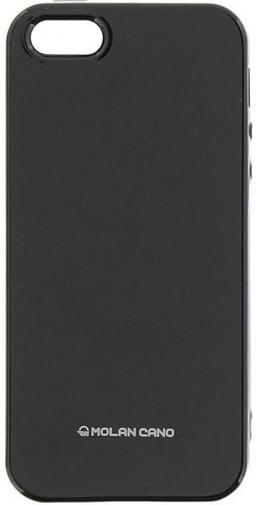 Molan Cano Jelly TPU Pouzdro pro iPhone X, černá