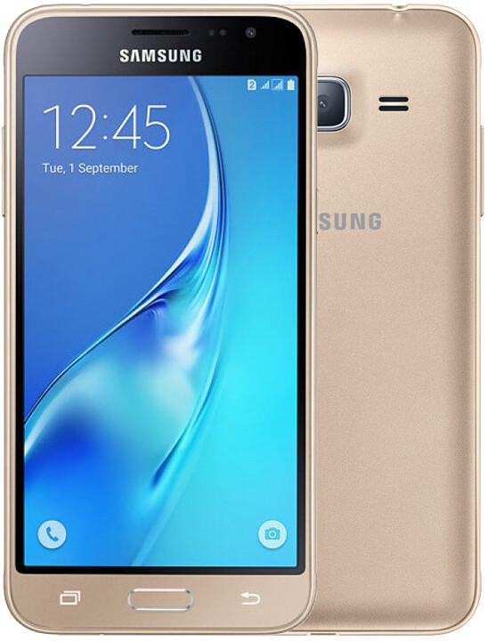 Samsung Galaxy J3 (2016) Dual Sim, zlatá