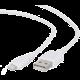 Gembird CABLEXPERT kabel USB 2.0 lightning (IP5 a vyšší) nabíjecí a synchronizační kabel, 2m, bílá