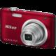 Nikon Coolpix A100, červená  + 300 Kč na Mall.cz