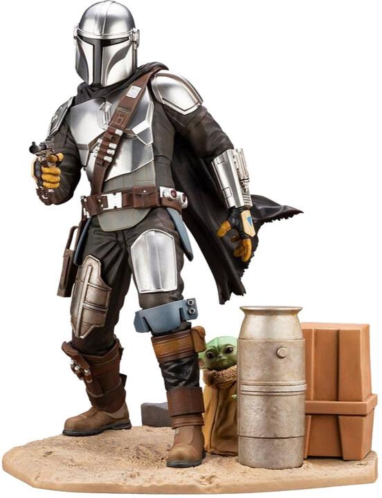 Figurka Star Wars Mandalorian - Mandalorian & The Child