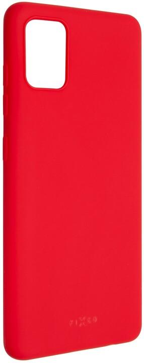 FIXED Story zadní pogumovaný kryt pro Samsung Galaxy A51, červená