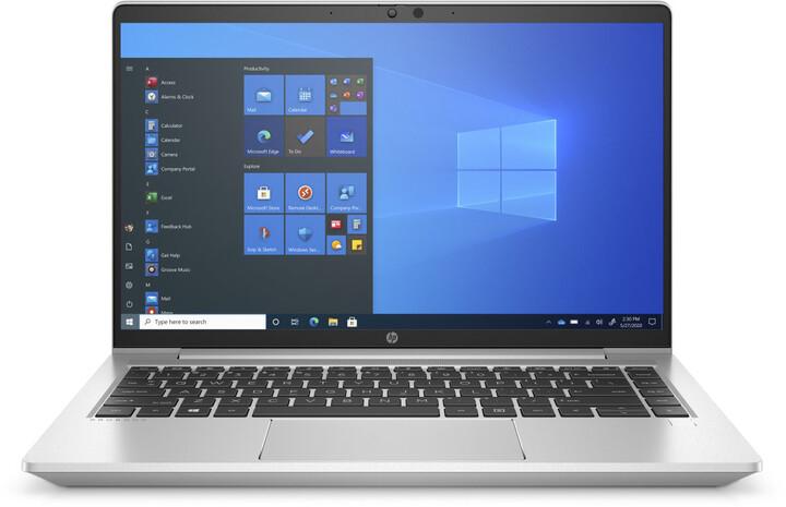HP ProBook 640 G8, stříbrná