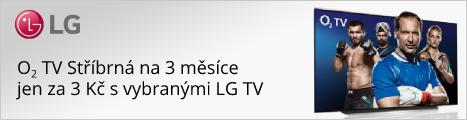 O2 TV Stříbrná na 3 měsíce za 3 Kč
