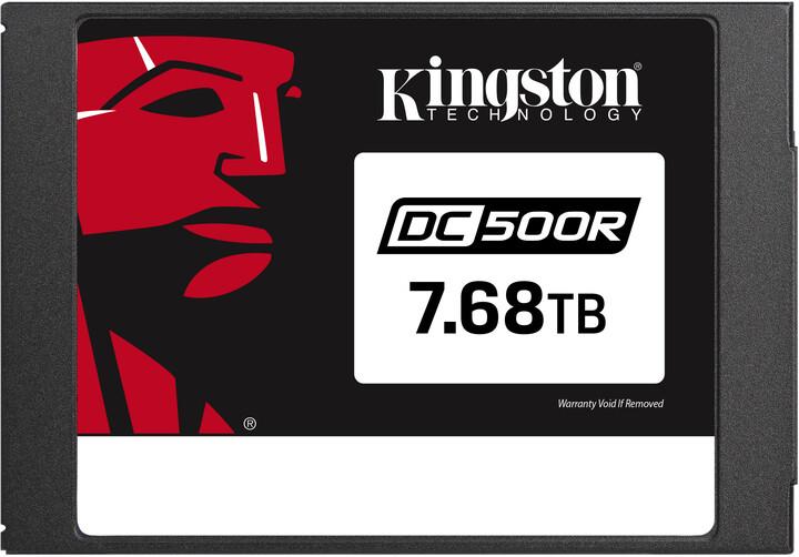 """Kingston Flash Enterprise DC500R, 2.5"""" - 7,68TB"""