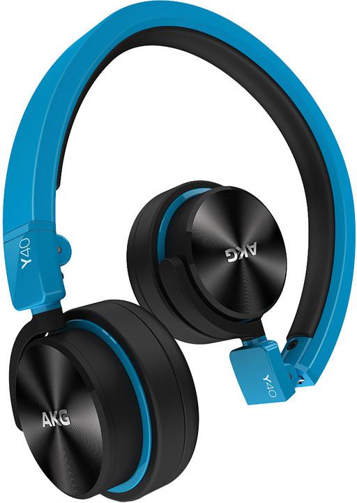 AKG Y40, modrá