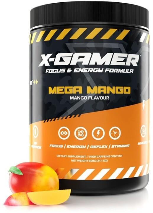 Doplněk stravy X-Gamer X-Tubz - Mega Mango, 600g