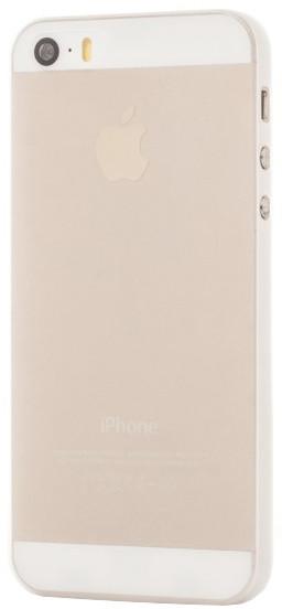EPICO Plastový kryt pro iPhone 5/5S/SE TWIGGY MATT - bílý transparentní