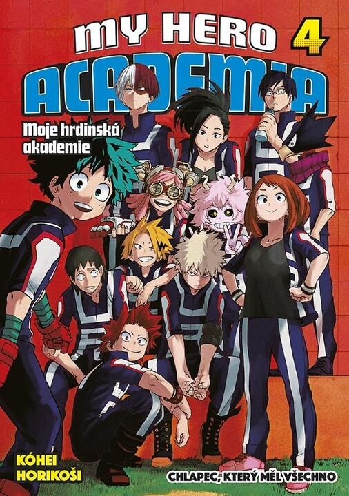 Komiks My Hero Academia - Moje hrdinská akademie, 4.díl, manga