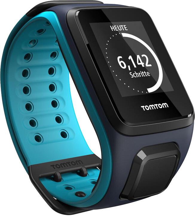 TOMTOM Runner 2 (velikost L), modrá