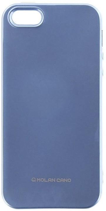 Molan Cano Jelly TPU Pouzdro pro Huawei Y7 Prime 2018, nebesky modrá