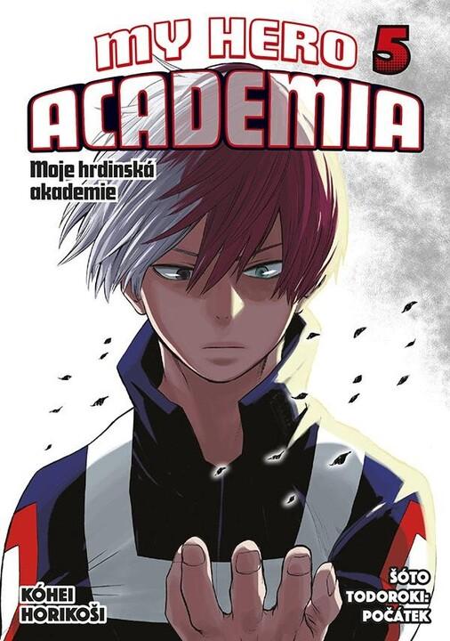 Komiks My Hero Academia - Moje hrdinská akademie, 5.díl, manga