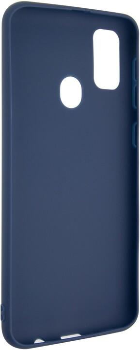 FIXED pogumovaný kryt Story pro Samsung Galaxy M21, modrá