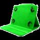 """C-TECH PROTECT univerzální pouzdro pro 7"""", NUTC-01, zelená"""