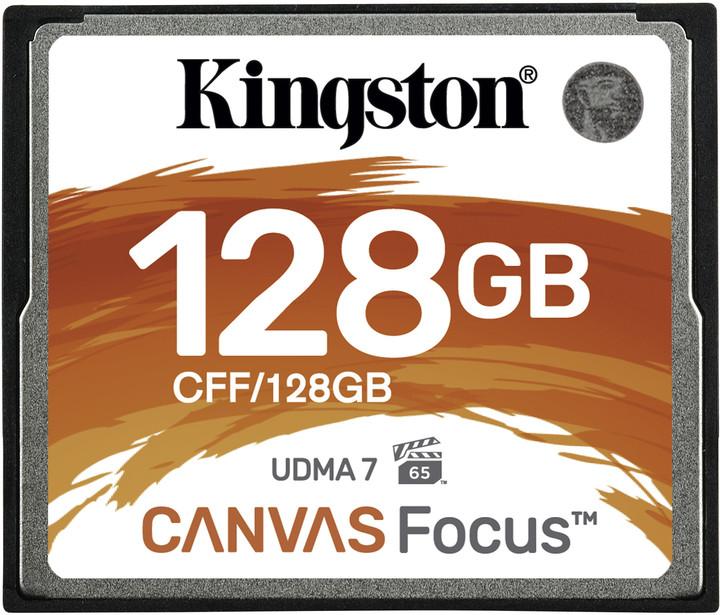 Kingston CompactFlash Canvas Focus 128GB 150MB/s
