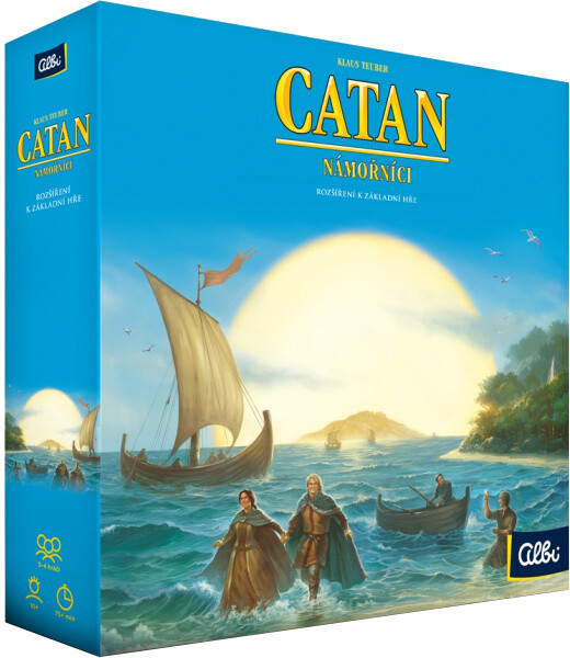 Desková hra Albi Catan: Osadníci z Katanu - Námořníci, rozšíření