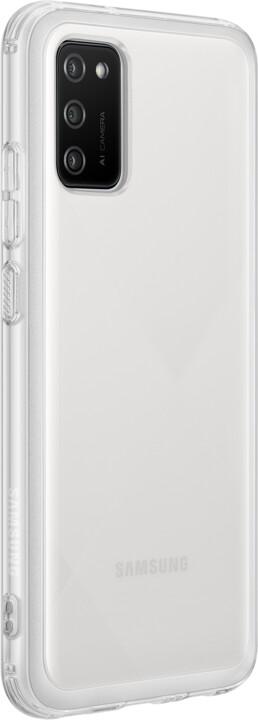 Samsung ochranný kryt A Cover pro Samsung Galaxy A02s, transparentní