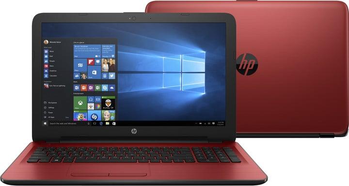 HP 15 (15-ay013nc), červená