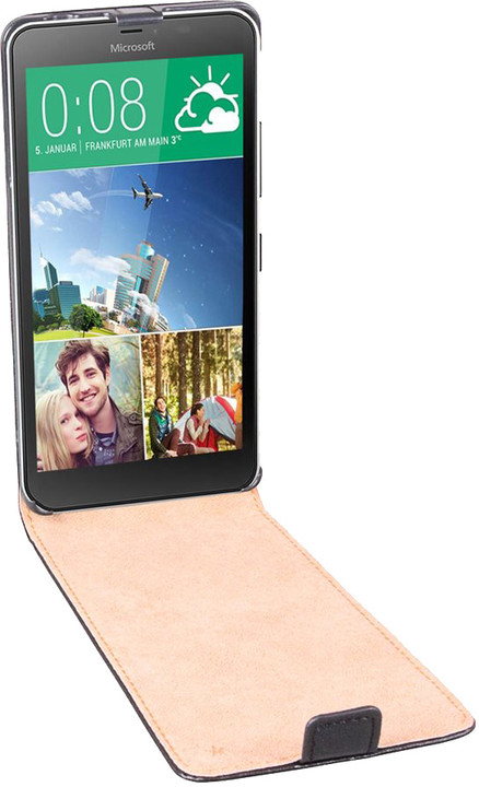 Patona pouzdro pro Microsoft / Nokia Lumia 640 XL, černá