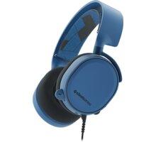 SteelSeries Arctis 3, modrá - Použité zboží