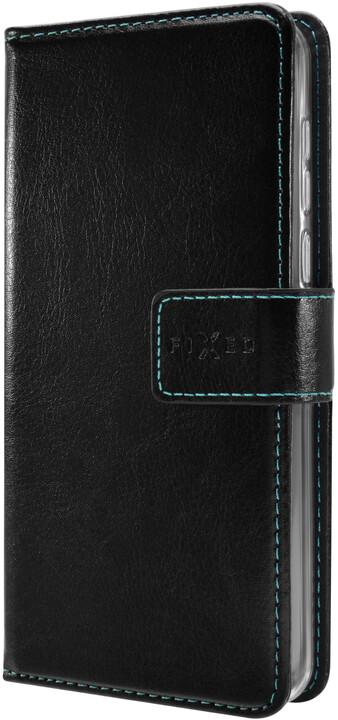 FIXED Opus pouzdro typu kniha pro Huawei Y6 Prime (2018), černé