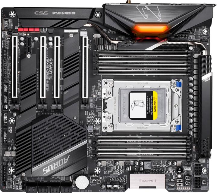 GIGABYTE TRX40 AORUS MASTER - AMD TRX40