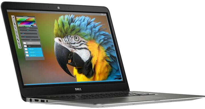 Dell Inspiron 15 (7548) Touch, stříbrná
