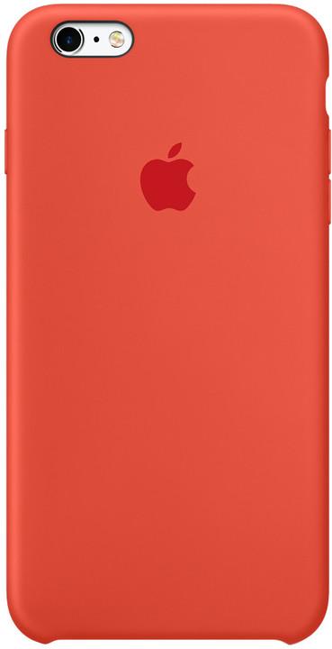 Apple iPhone 6s Silicone Case, oranžová