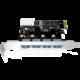 ICY BOX IB-AC614a USB 3.0 PCI-E Expansion Card with 4x USB 3.0 port