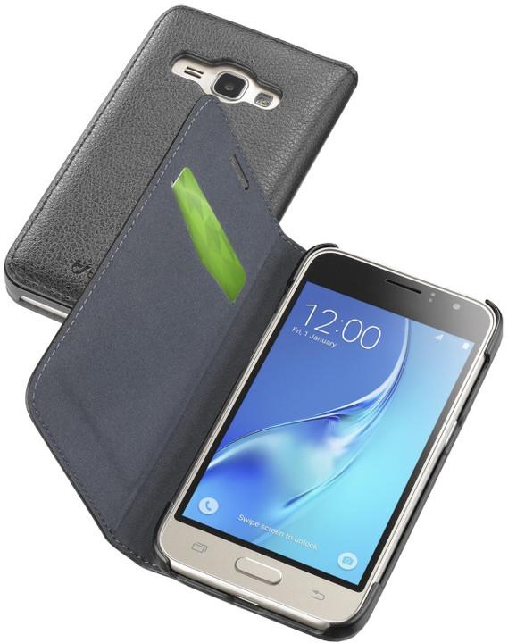 CellularLine Book Essential pouzdro typu kniha pro Samsung Galaxy J1 (2016), černé