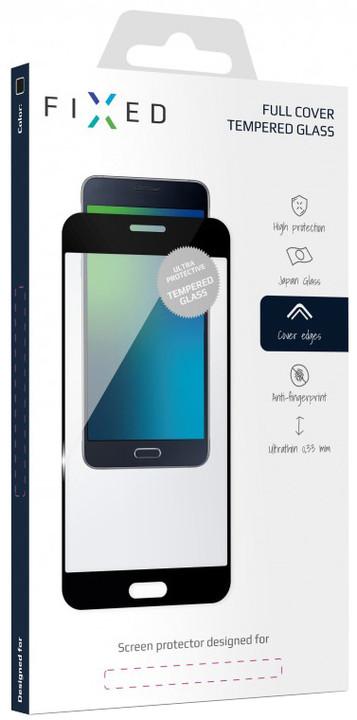 FIXED Full-Cover ochranné tvrzené sklo pro Motorola Moto G5S Plus, přes celý displej, černé
