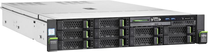 Fujitsu PRIMERGY RX2540 M5 8x2,5' /Xeon /Silver 4210/16GB/bez HDD/800W/2U