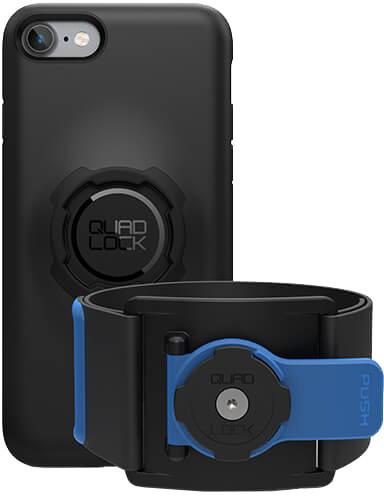 Quad Lock Run Kit – iPhone 7/8 - Sportovní držák na ruku