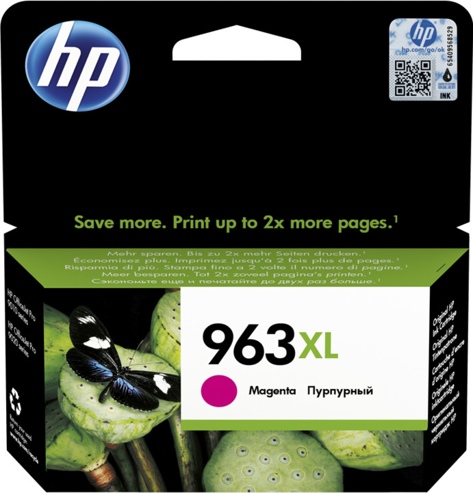 HP 3JA28AE č. 963XL, magenta