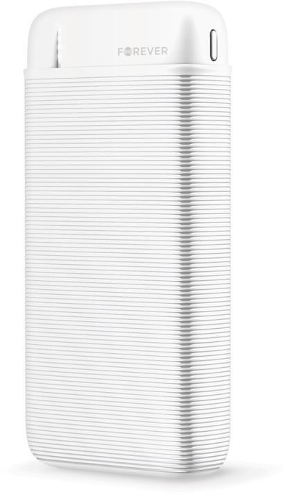 Forever powerbanka TB-100L, 20000mAh, bílá